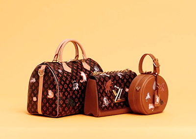Louis Vuitton x Grace Coddington : Capsule Collection